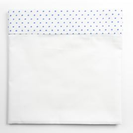 Moses Top Sheet - Spot Voile Blue