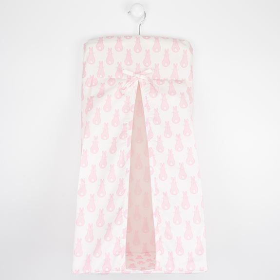 Nappy Stacker - Rabbit Trellis Pink