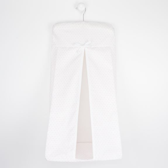 Nappy Stacker - Spot Voile Pink