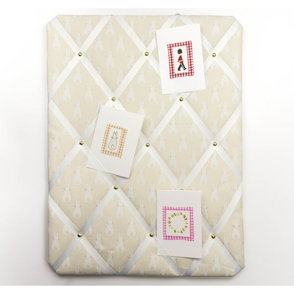 Pinboard - Rabbit Trellis Cream
