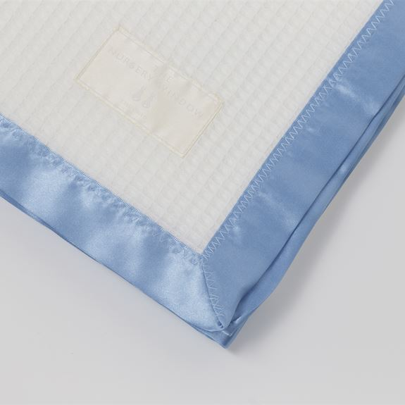 Cotton Satin Edged Pram Blanket