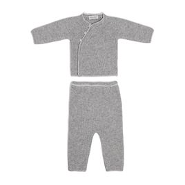 Grey Cashmere Jumper & Leggings Set