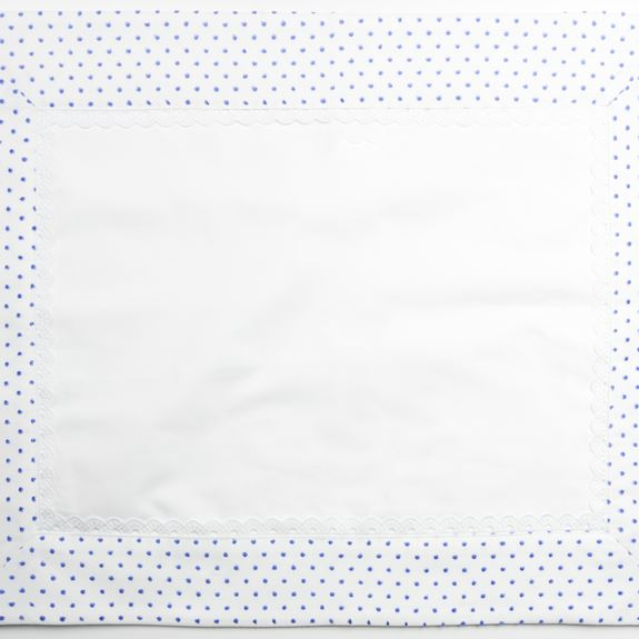 Pillowcase - Spot Voile Blue