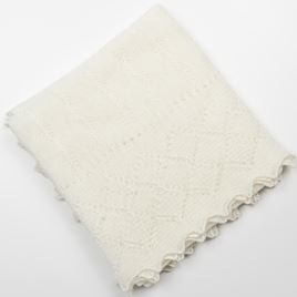 Cashmere Shawl - Cream