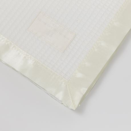 Cotton Satin Edged Cot Blanket