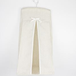 Nappy Stacker - Linen Stripe