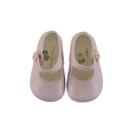 Handmade Leather Shoes - Pink