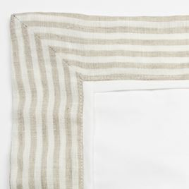 Pillowcase - Linen Stripe