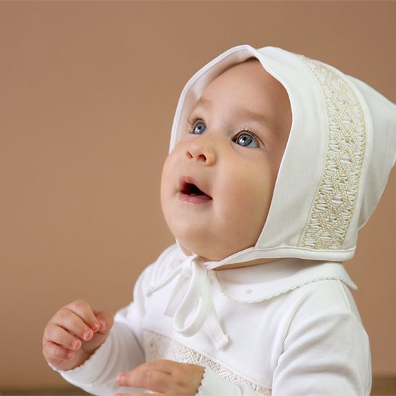 Smocked Hat - Neutral