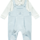 Dungaree Set - Blue