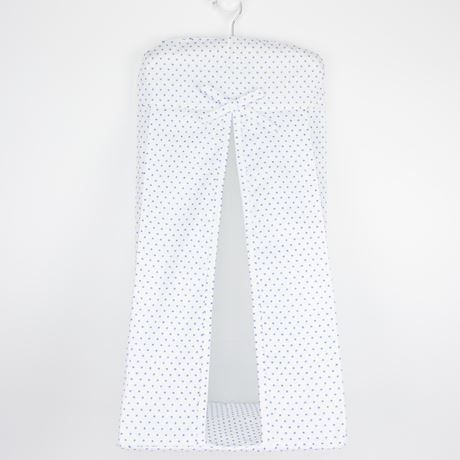 Nappy Stacker - Spot Voile Blue