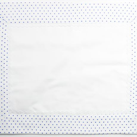 Pillowcase - Spot Voile White
