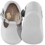 Leather Shoes - White